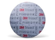 3M Trizact P1500 brusný kotouč se suchým zipem, 6
