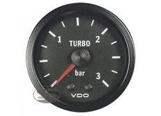 VDO přídavný ukazatel tlaku turba série Cocpit Vision 0-3bar