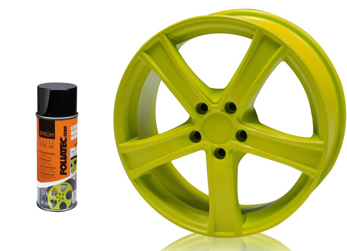 1 ks spreje FOLIATEC - fólie ve spreji (dip) toxic zelená 400ml