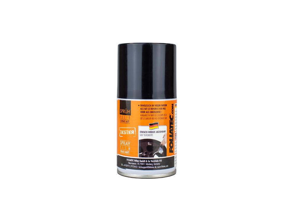 FOLIATEC - fólie ve spreji (dip) černá matná - tester 100 ml