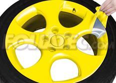 Sada 2ks spreje FOLIATEC - fólie ve spreji (dip) žlutá lesklá celkem 800ml