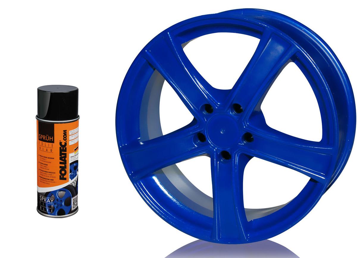 1 ks spreje FOLIATEC - fólie ve spreji (dip) modrá lesklá 400ml