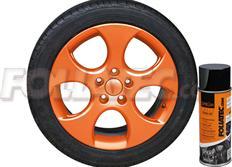 1 ks spreje FOLIATEC - fólie ve spreji (dip) oranžová lesklá 400ml