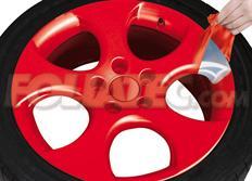 Sada 2ks spreje FOLIATEC - fólie ve spreji (dip) červená lesklá celkem 800ml