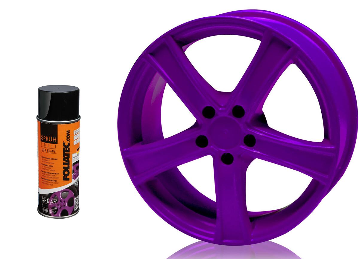 1 ks spreje FOLIATEC - fólie ve spreji (dip) fialová lesklá 400ml