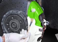 FOLIATEC dvousložková barva na brzdy zelená neonová