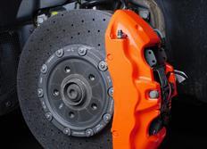 FOLIATEC dvousložková barva na brzdy oranžová neonová