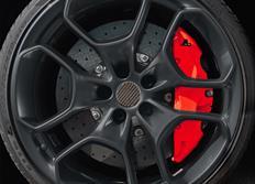 FOLIATEC dvousložková barva na brzdy červená neonová