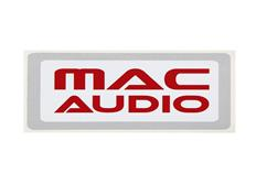 Samolepka Mac Audio 120 x 60 mm