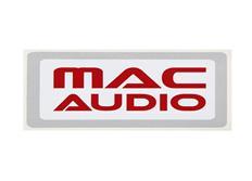 Samolepka Mac Audio 170 x 88 mm