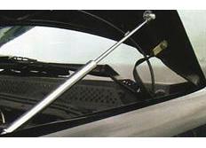 Chromové vzpěry kapoty motoru VW Golf III / Vento