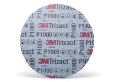 3M Trizact P1000 brusný kotouč se suchým zipem a pěnovým podkladem, 6
