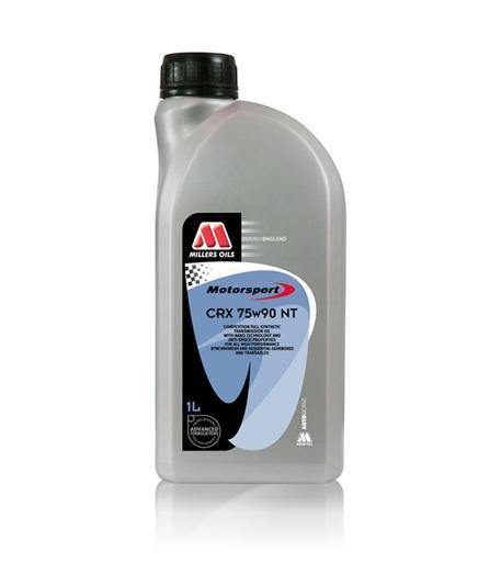 Závodní plně syntetický převodový olej Millers Oils - CRX 75W-90 NT 1l