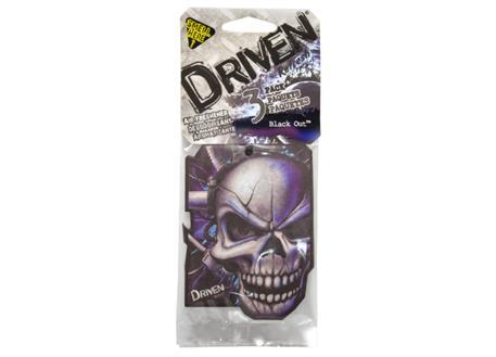 Sada 3ks osvěžovačů vzduchu HandStands scented paper, vůně Driven - Black Out