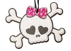 Sada 3ks osvěžovačů vzduchu HandStands scented paper, vůně Driven Girl - Skull & Crossbones