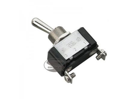 Kovový vypínač stříbrný ON/OFF