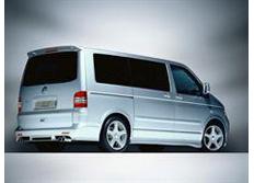 ABT spoiler pod originální zadní nárazník pro VW T5 7H (od 01/03)