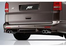 ABT spoiler pod originální zadní nárazník pro VW T5 7H Multivan, Caravelle, California / VW T5 7H9 Bus, Pa, r.v. 2009