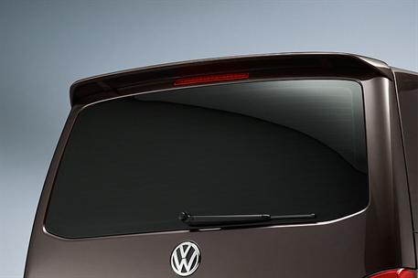 ABT Střešní spoiler pro VW T5 7H9 Facelift (od 01/10) pro modely s výklopnými dveřmi