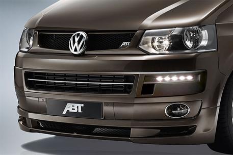 ABT spoiler pod originální přední nárazník pro VW T5 7H9 Facelift (od 01/10)