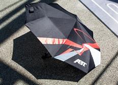 ABT Sportsline skládací deštník, černý s logem ABT s průměrem 95 cm
