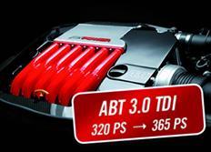 ABT Sportsline zvýšení výkonu pro Audi A6 (4G05) 3,0 TDI z 235 kW (320 k) / 650 Nm na 268 kW (365 k) / 710 Nm