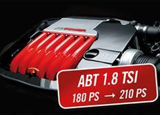 ABT Sportsline zvýšení výkonu pro VW Passat (3G00) 12/14-, 1,8 TSI z 132 kW (180 k) / 250 Nm na 154 kW (210 k) / 310 Nm