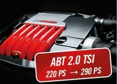 ABT Sportsline zvýšení výkonu pro VW Passat (3G00) 12/14-, 2,0 TSI z 162 kW (220 k) / 350 Nm na 213 kW (290 k) / 420 Nm