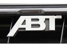 ABT logo do masky chladiče, chromované pro Audi A1
