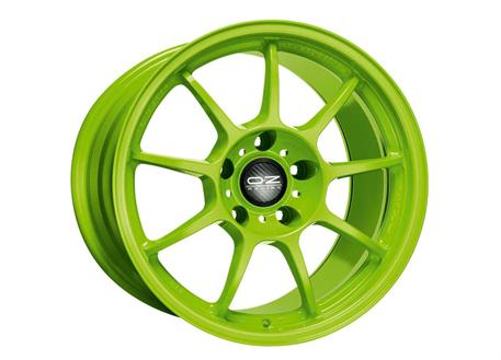 Alu kolo OZ ALLEGGERITA HLT 5F, 9,5x18 5x120 ET35, acid green