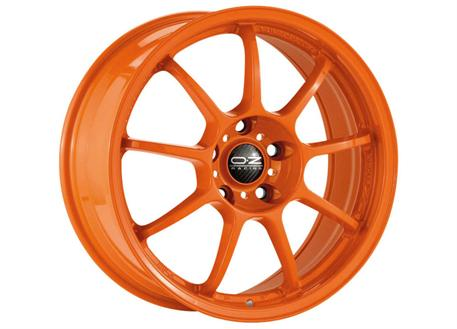 Alu kolo OZ ALLEGGERITA HLT 5F, 10x18 5x130 ET65, oranžové