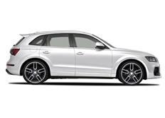 CARACTERE 10ti-dílná sada pro rozšíření blatníků pro použití s CARACTERE předním nárazníkem pro Audi Q5 (R8)