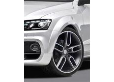 CARACTERE 10ti-dílná sada pro rozšíření blatníků pro použití s CARACTERE předním nárazníkem pro Audi Q5 před faceliftem