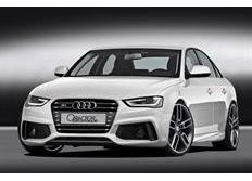 CARACTERE kompletní přední nárazník včetně mlhových světlometů a znaku RS4 pro Audi A4 8K2 Sedan/Avant