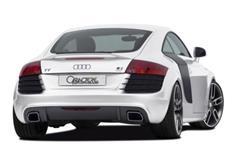 CARACTERE kompletní zadní nárazník pro Audi TT (8J) Coupe / Roadster r.v. od 2007 (bez APS)