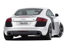 CARACTERE kompletní zadní nárazník pro Audi TT (8J) Coupe / Roadster r.v. od 2007 (s APS)