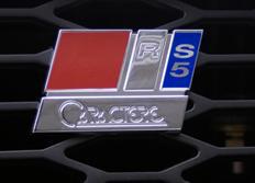 CARACTERE přední znak RS5 pro Audi A5 před faceliftem Coupe/Cabrio/Sportback