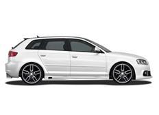 CARACTERE sada bočních prahů pro Audi A3 (8P) Sportback r.v. od 2008
