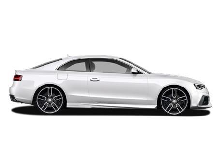 CARACTERE sada nástavců bočních prahů pro Audi A5 (8T3) Coupé / Cabrio Facelift r.v. od 2013