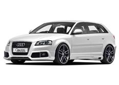 CARACTERE spoiler pod originální přední nárazník Audi A3 (8P) Sportback r.v. od 2008