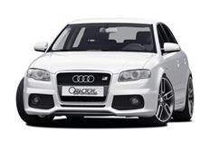 CARACTERE spoiler pod originální přední nárazník pro vozy s originálními mlhovými světly pro Audi A4 (8E) r.v. od 2005 / A4 (8E) Cabrio r.v. od 2006