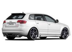 CARACTERE spoiler pod originální zadní nárazník pro Audi A3 (8P) Sportback r.v. od 2008