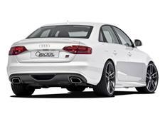 CARACTERE spoiler pod originální zadní nárazník pro Audi A4 (8E) Cabrio r.v. od 2006