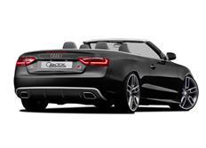 CARACTERE spoiler pod originální zadní nárazník pro Audi A5 (8T3) Cabrio Facelift r.v. od 2013
