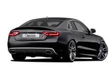 CARACTERE spoiler pod originální zadní nárazník pro Audi A5 (8T3) Coupé Facelift r.v. od 2013