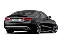 CARACTERE spoiler pod originální zadní nárazník pro Audi A5 (8T3) Coupé Facelift r.v. od 2013 s exteriérovým paketem S-Line