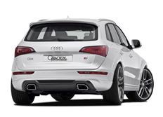 CARACTERE spoiler pod originální zadní nárazník pro Audi Q5 (8R)