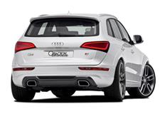 CARACTERE spoiler pod originální zadní nárazník pro Audi Q5 (8R2) Facelift r.v. od 2013