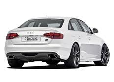 CARACTERE spoiler pod originální zadní nárazník pro model Audi A4 (8K) / A4 (8K) Avant r.v. od 2008 s exteriérovým paketem S-Line