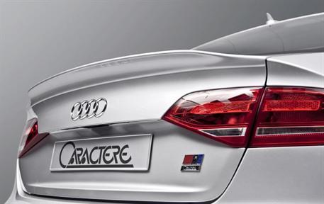 CARACTERE spoiler víka kufru pro Audi A4 8K2 Sedan